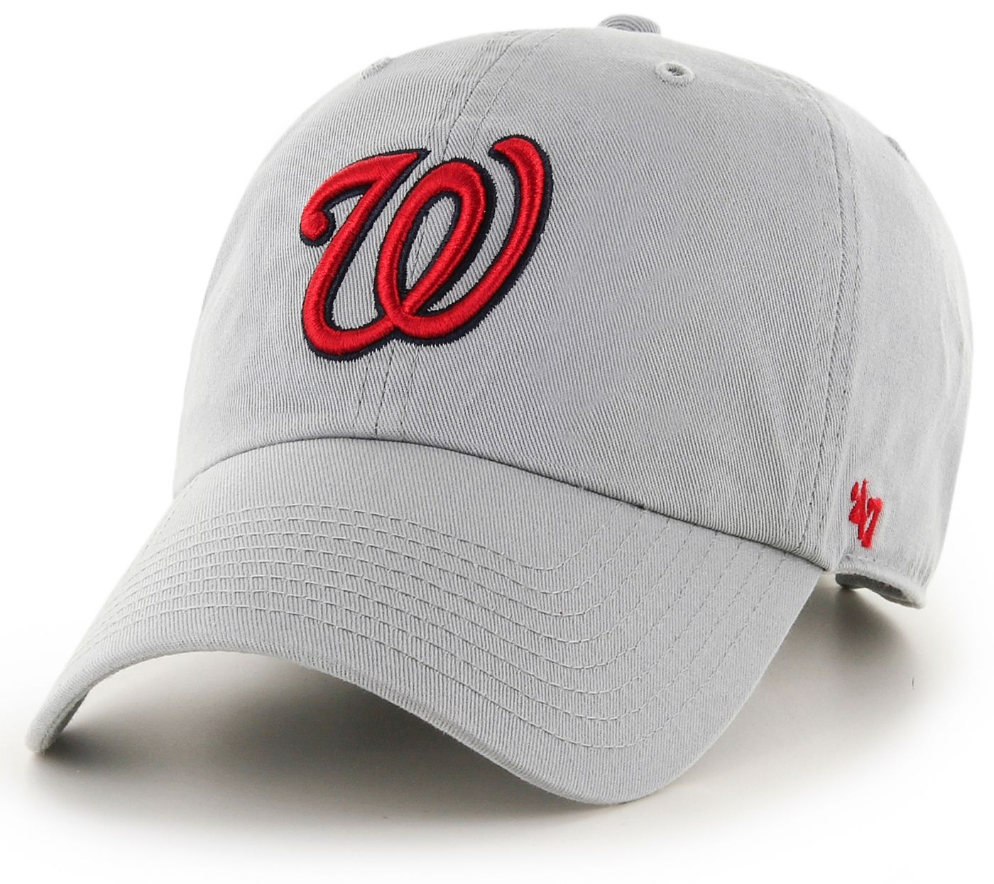 '47 Men's Washington Nationals Storm Clean Up Adjustable Hat