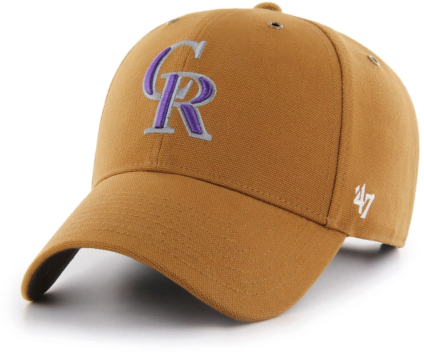'47 Men's Colorado Rockies Carhartt MVP Brown Adjustable Hat