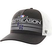 '47 Men's Colorado Rockies 2018 MLB Postseason Locker Room Adjustable Hat