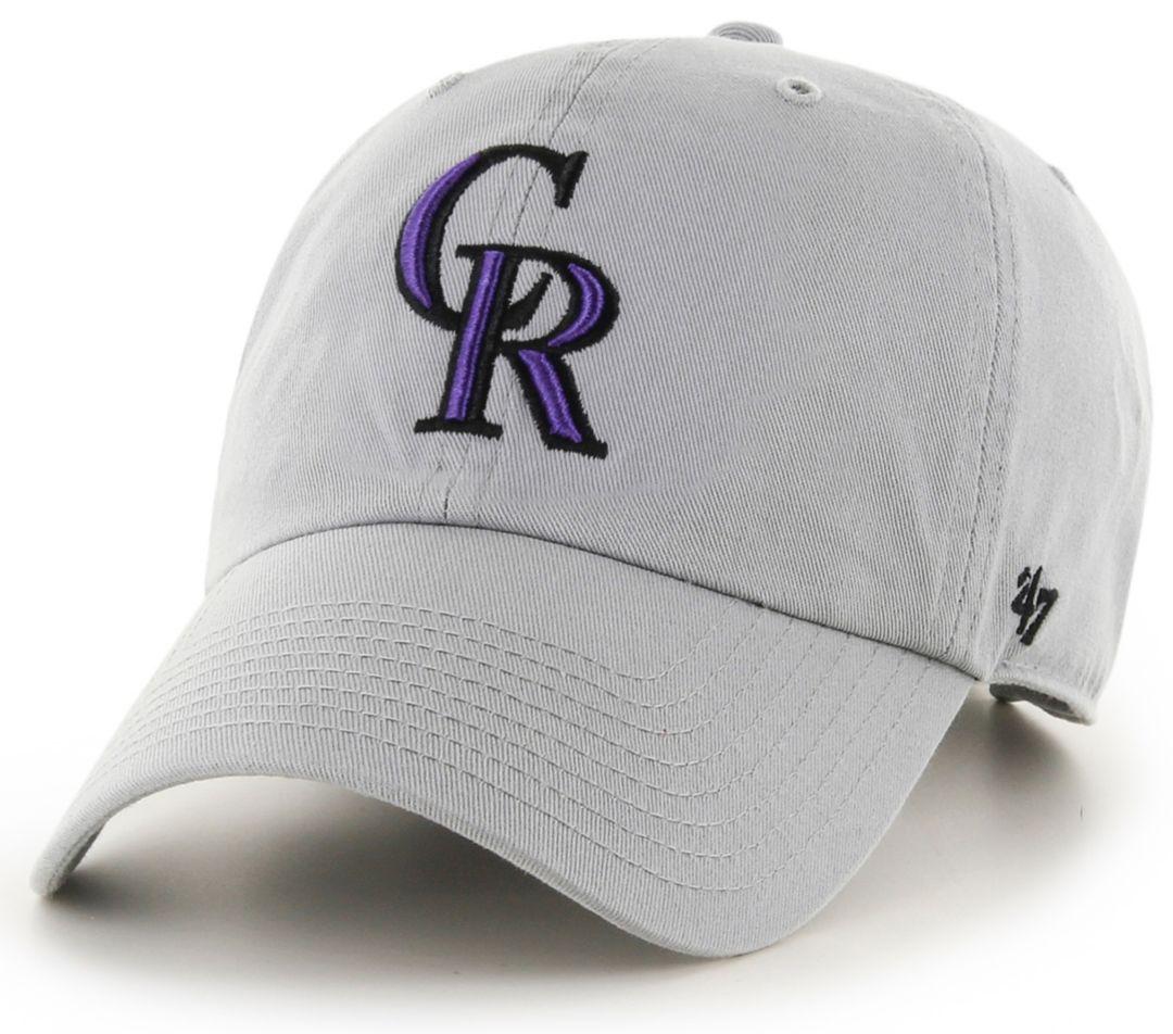 '47 Men's Colorado Rockies Storm Clean Up Adjustable Hat