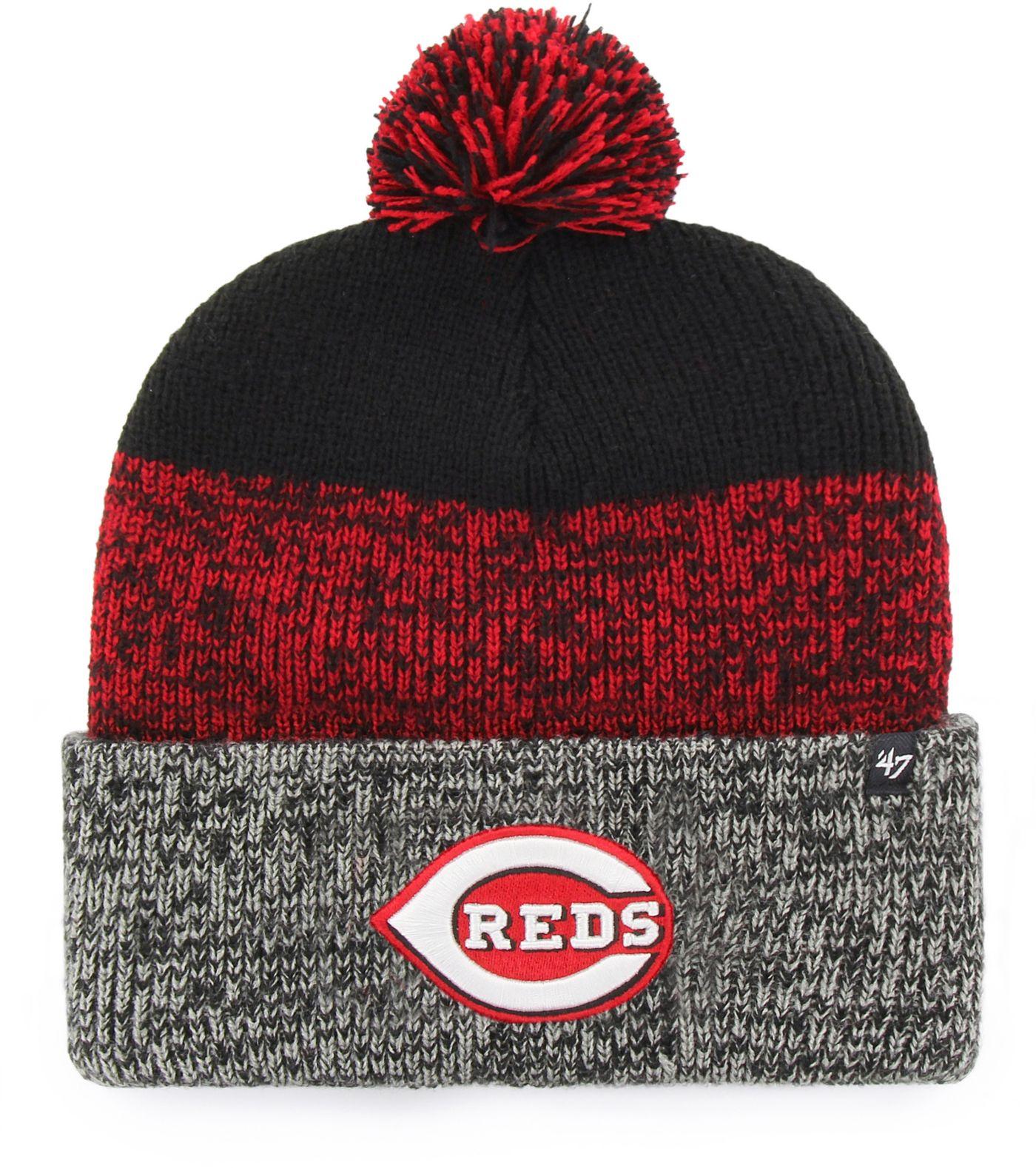 '47 Men's Cincinnati Reds Static Knit Hat