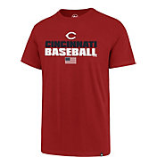 '47 Men's Cincinnati Reds Americana Splitter T-Shirt