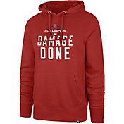 "'47 Men's 2018 World Series Champions ""Damage Done"" Boston Red Sox Red Pullover Hoodie"
