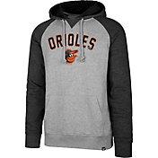 '47 Men's Baltimore Orioles Raglan Pullover Hoodie
