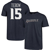 '47 Men's Binghamton Rumble Ponies Tim Tebow #15 Navy T-Shirt