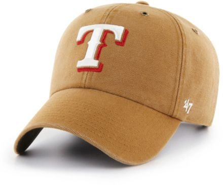 8dcbf176b '47 Men's Texas Rangers Carhartt Clean Up Brown. '