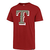 '47 Men's Texas Rangers Memorial Splitter T-Shirt
