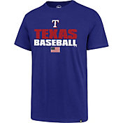 '47 Men's Texas Rangers Americana Splitter T-Shirt