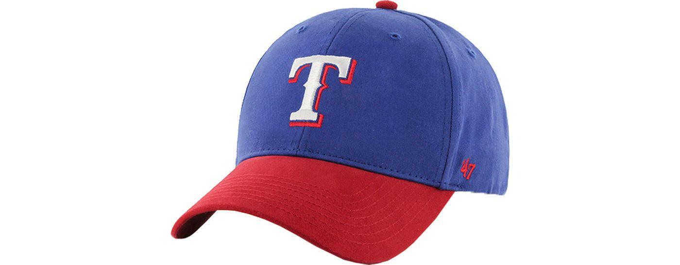 '47 Youth Texas Rangers Short Stack MVP Adjustable Hat