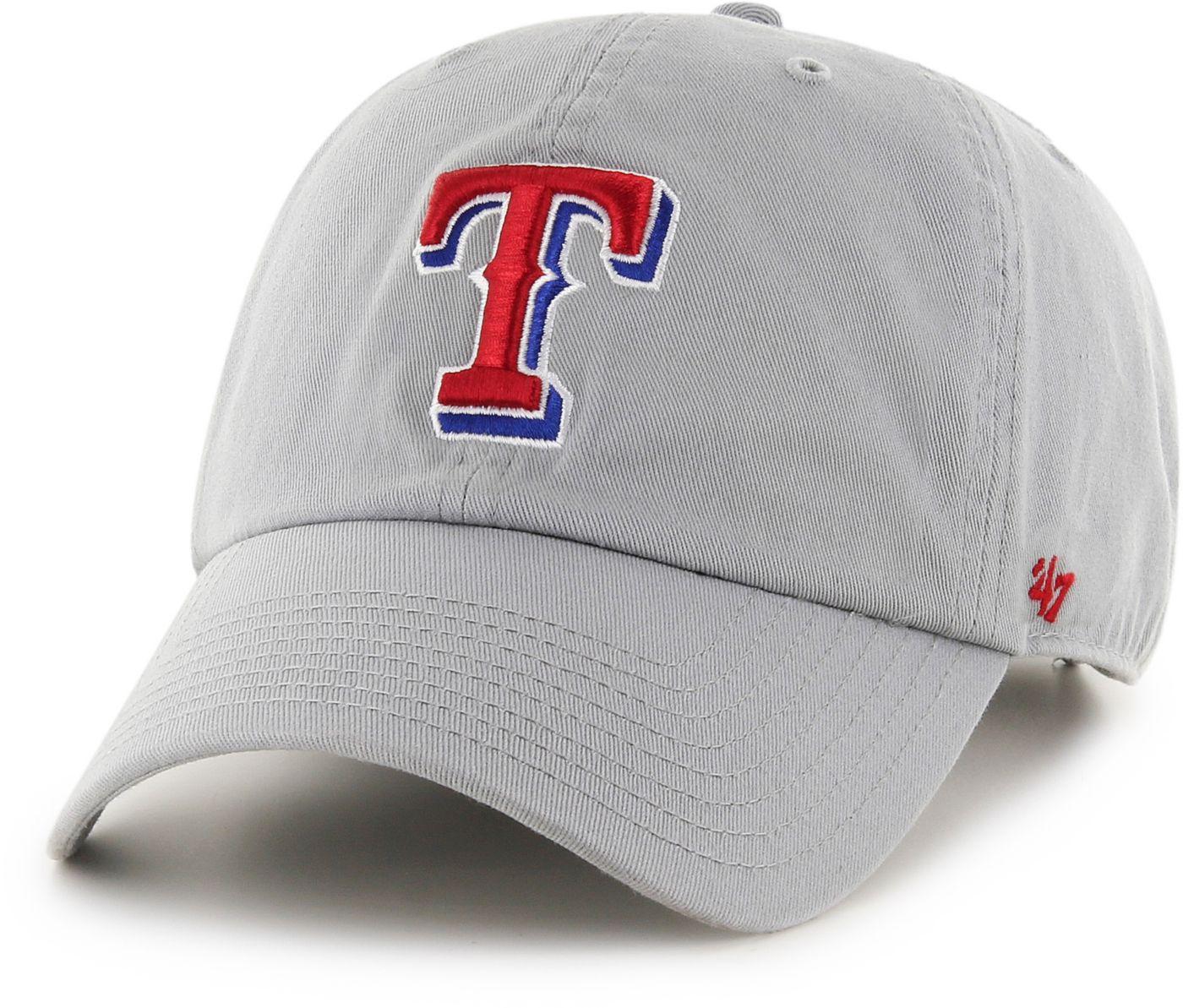 '47 Men's Texas Rangers Storm Clean Up Adjustable Hat
