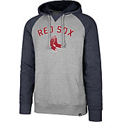 '47 Men's Boston Red Sox Raglan Pullover Hoodie