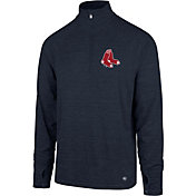 '47 Men's Boston Red Sox Quarter-Zip Pullover