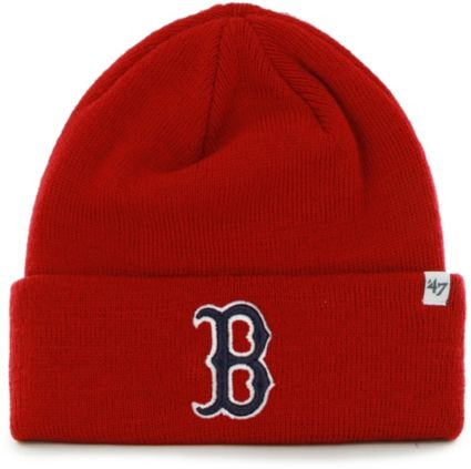 47 Men s Boston Red Sox Red Knit Hat  c482c4a62c1