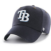 '47 Men's Tampa Bay Rays Carhartt Clean Up Navy Adjustable Hat