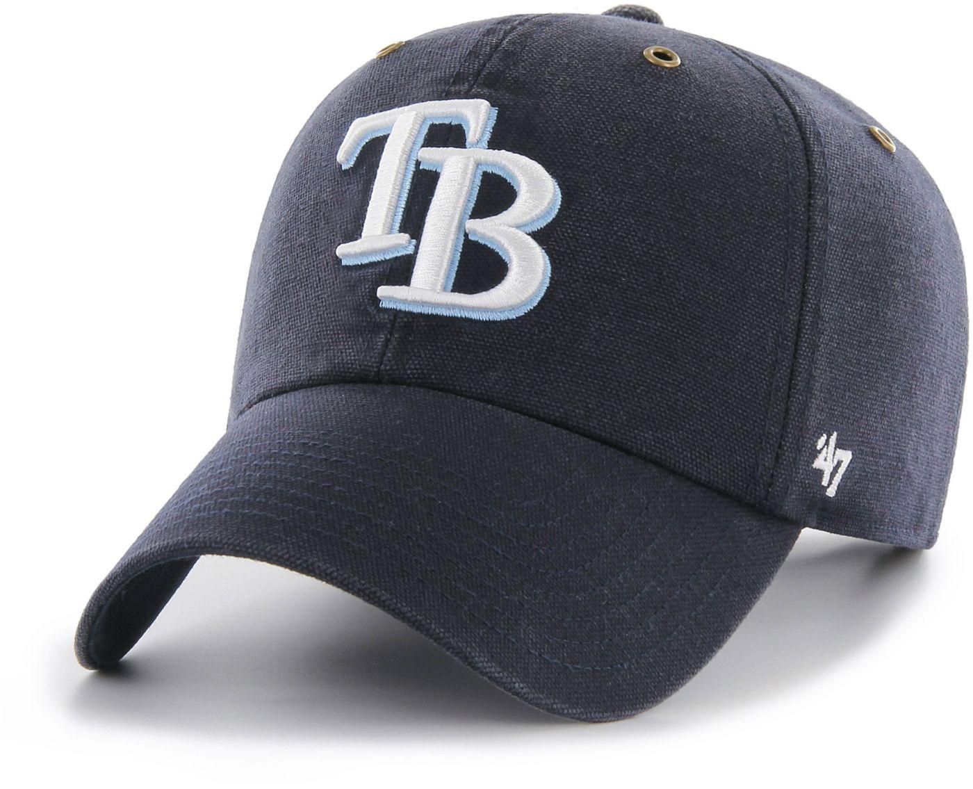 '47 Men's Tampa Bay Rays Carhartt Clean Up Navy Adjustable Hat