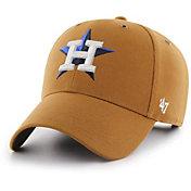'47 Men's Houston Astros Carhartt MVP Brown Adjustable Hat