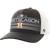 '47 Men's Houston Astros 2018 MLB Postseason Locker Room Adjustable Hat