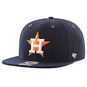 '47 Men's Houston Astros Carhartt Captain Navy Adjustable Snapback Hat