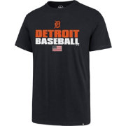'47 Men's Detroit Tigers Americana Splitter T-Shirt