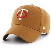 '47 Men's Minnesota Twins Carhartt MVP Brown Adjustable Hat