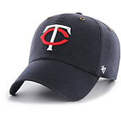 '47 Men's Minnesota Twins Carhartt Clean Up Navy Adjustable Hat
