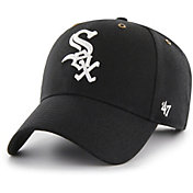 '47 Men's Chicago White Sox Carhartt MVP Black Adjustable Hat