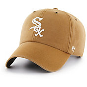 '47 Men's Chicago White Sox Carhartt Clean Up Brown Adjustable Hat