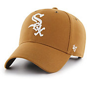 '47 Men's Chicago White Sox Carhartt MVP Brown Adjustable Hat