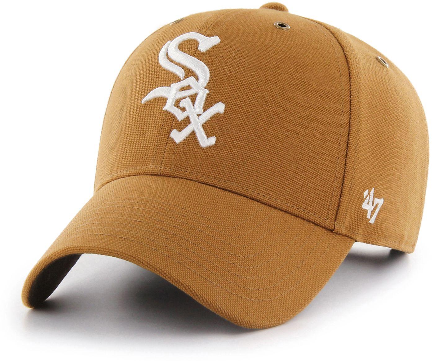 '47 Men's Chicago White Sox Carhartt MVP Brown Adjustable Hat