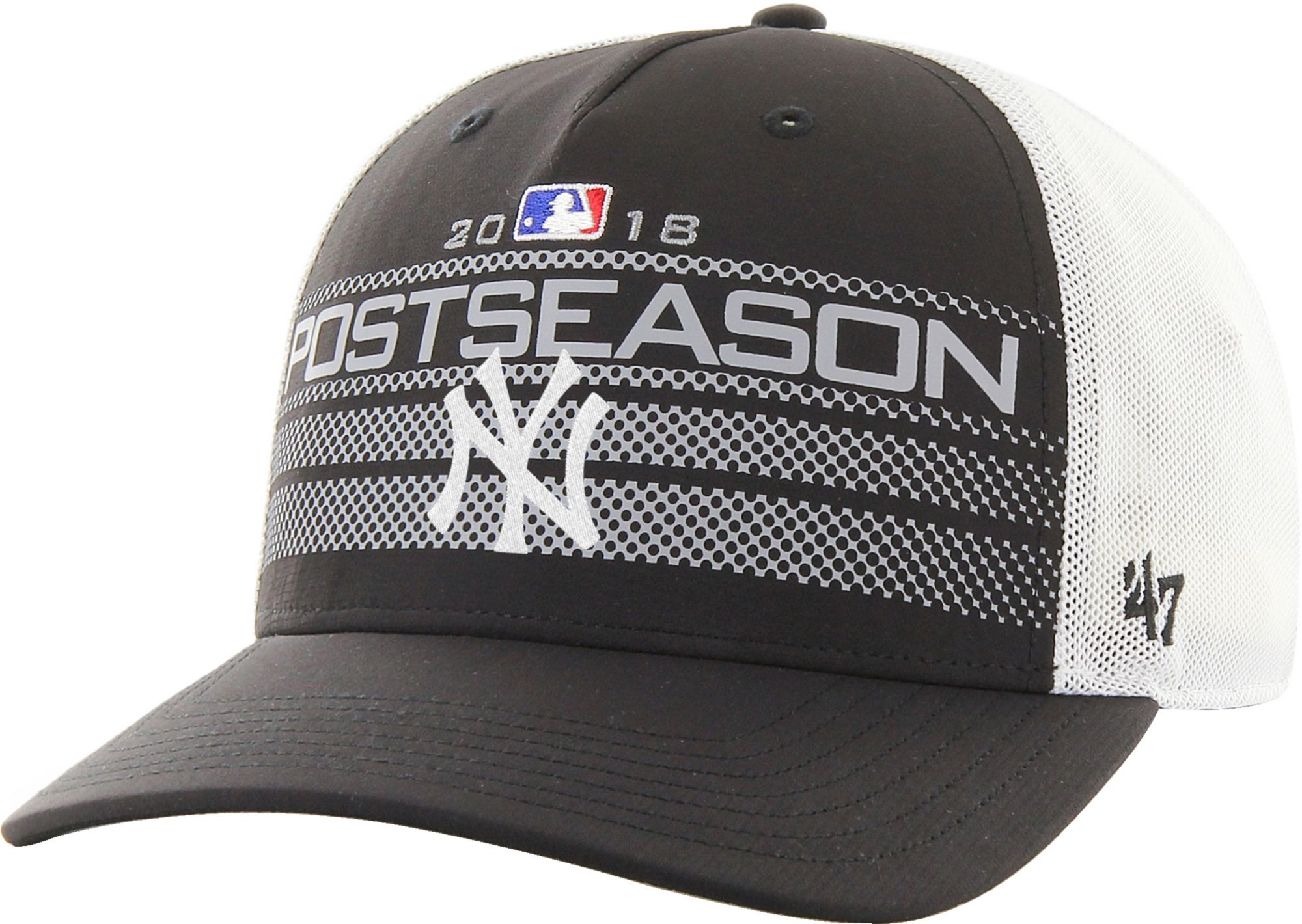 a61b20dcc8e ... canada 47 mens new york yankees 2018 mlb postseason locker room  adjustable hat 8067f 146c6