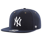 '47 Men's New York Yankees Carhartt Captain Navy Adjustable Snapback Hat