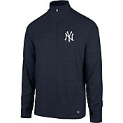 '47 Men's New York Yankees Quarter-Zip Pullover