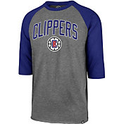 '47 Men's Los Angeles Clippers Raglan Three-Quarter Sleeve Shirt