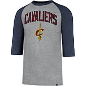 '47 Men's Cleveland Cavaliers Raglan Three-Quarter Sleeve Shirt