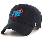 '47 Men's Miami Heat Clean Up Adjustable Hat