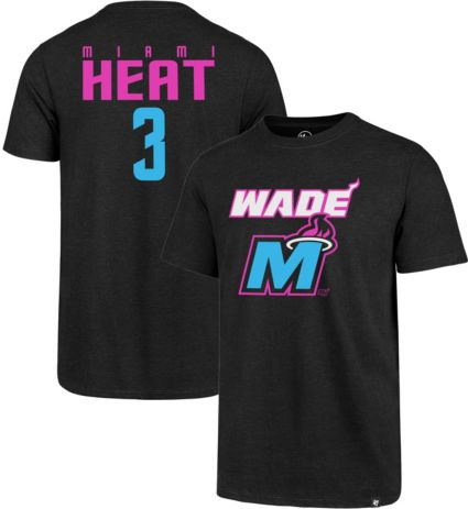 87123feb6 47 Men s Miami Heat Dwyane Wade T-Shirt