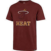 '47 Men's Miami Heat Red T-Shirt