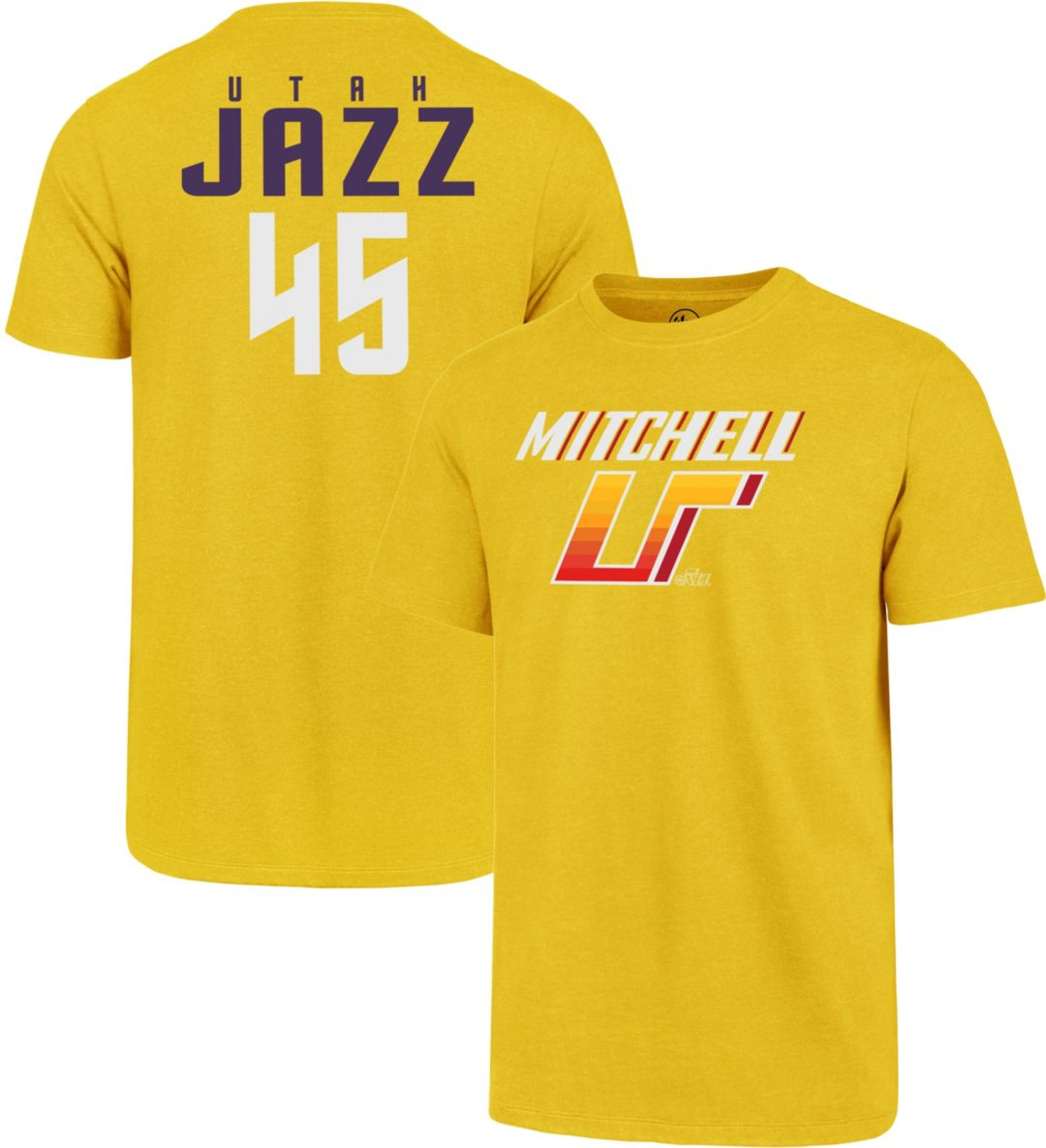 buy online 6ac40 8294e '47 Men's Utah Jazz Donovan Mitchell T-Shirt