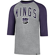'47 Men's Sacramento Kings Raglan Three-Quarter Sleeve Shirt