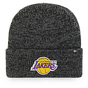 '47 Men's Los Angeles Lakers Brain Freeze Knit Beanie