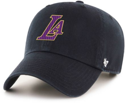 watch 2ca7a 492b0  47 Men  39 s Los Angeles Lakers Clean Up Adjustable Hat.