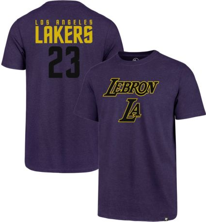 47 Men s Los Angeles Lakers LeBron James T-Shirt  f55820eee