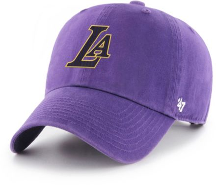 cce71df62a44ba '47 Men's Los Angeles Lakers Clean Up Adjustable Hat. '
