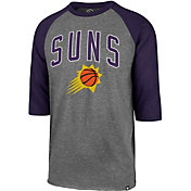 '47 Men's Phoenix Suns Raglan Three-Quarter Sleeve Shirt