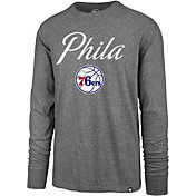 """'47 Men's Philadelphia 76ers """"Phila"""" Long Sleeve Shirt"""
