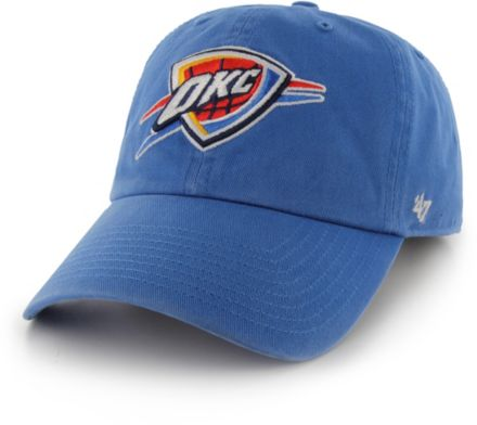 pretty nice f3373 68222  47 Men  39 s Oklahoma City Thunder Clean Up Adjustable Hat.