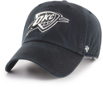 pretty nice f8802 d6aac  47 Men  39 s Oklahoma City Thunder Clean Up Adjustable Hat.