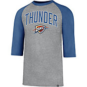 '47 Men's Oklahoma City Thunder Raglan Three-Quarter Sleeve Shirt