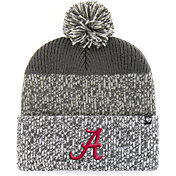 '47 Men's Alabama Crimson Tide Grey Static Cuffed Knit Hat