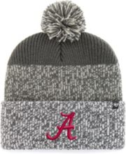 new arrival 641e2 8d7f1  47 Men  39 s Alabama Crimson Tide Grey Static Cuffed Knit Hat ·